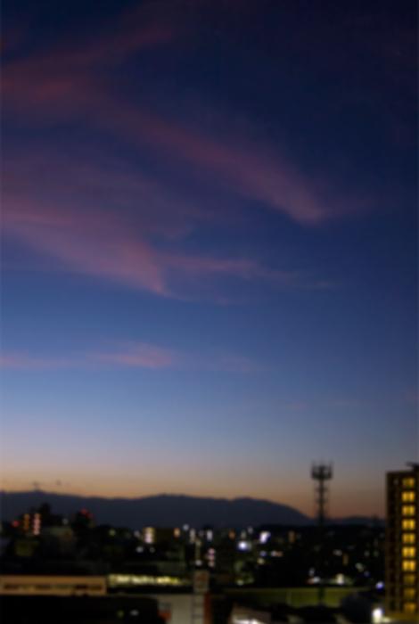 朝日が昇るよ
